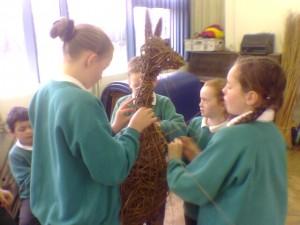School Art Project - Animal Sculpture